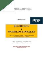 Regresión lineal y múltiple.