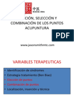 Combinación puntos de acupuntura