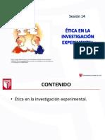 PPT Sesión 14 Experimental