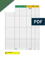 tabla de amortización