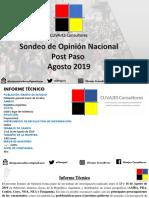 Sondeo Opinion Post PASO