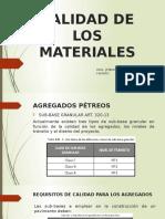 Calidad de Los Materiales-clase 2