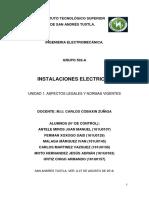 Unidad 1 (Investigación) Instalaciones electricas