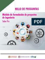 Cuadernillo de Preguntas Formulacion de Proyectos de Ingenieria Saber Pro 2018