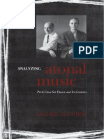 Schuijer - Analyzing Atonal Music_ Pitch-Class Set Theory and Its Contexts-University of Rochester Press (2008)