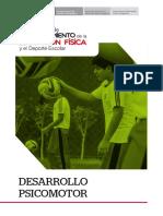 SEPARATA DESARROLLO PSICOMOTOR