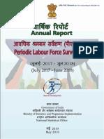 Annual Report, PLFS 2017-18_31052019