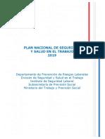 Plan Nacional SST 2019