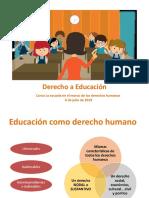 2. Derecho a Educación y Sus Características 2019