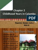 CHAPTER 2-Childhood Years in Calamba