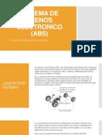 Sistema de Frenos Electronico (Abs)