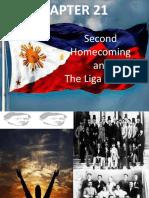 CHAPTER 21-Second Homecoming & the La Liga Filipina