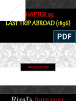 CHAPTER 23-Last Trip to Abroad