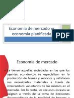 Economica Planificada vs Economia de Mercado