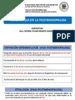 Caso Clínico 5-Hemorragia en La Postmenopausia