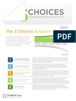 The 5 Choices the Process2