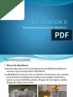2.Albañileria y revestimietos de estucos.