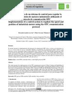 implementacion control pd
