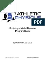 Sculpting a Model Physique Guide
