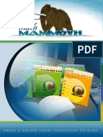 Math Mammoth Green Golden Series Catalog