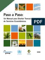 7 Paso a Paso Un Manual para Diseñar Transacciones de Servicios Ecosistémicos Forest Trends 2008