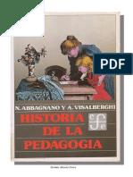 Abbagnano, N.y Visalberghi, A.- Historia de La Pedagogía