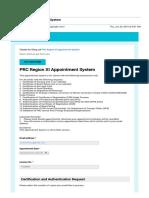Gmail - PRC Region XI Appointment System