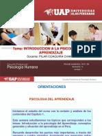 1 Introduccion a La Psicologia Del Aprendizaje