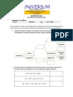 Universum Examen Extraordinario (Matemáticas i)
