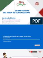 Ppt 3 Enfoque del Área de Comunicación 2019