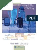 Winter 2011 Art Retailer Catalog