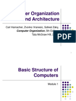 Computer Organization and Architecture (18EC35)- Basic Structure of Computers