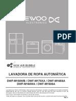 Manual de Usuario DWF-M170XA