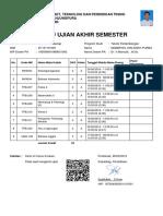 Kartu Ujian Akhir Semester _ D1101181031