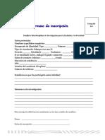 Inscripción Del Semillero-x