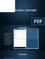 programacion listview