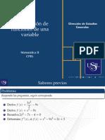 Optimización con una sola variable