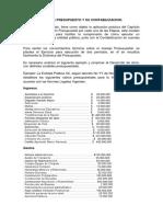Ejercicio Guia de Presupuesto y Su Contabilizacion 1er Corte