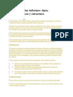 TEMA 6. Cómo Redactar Informes