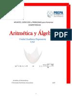 Aritmética y Algebra 2016