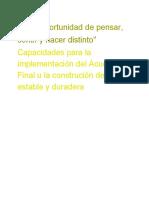 2. Papel de Instituciones en Posconflicto (1)