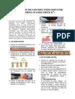 Instruccion de Uso de Famecorte E - Enero 2016