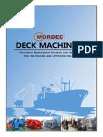 Deck Machineries