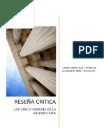 Reseña Teoria de La Arquitectura