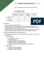 Actividades Entregable 1 Econom�a de la Empresa Unitec