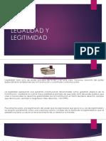Legalidad y Legitimidad