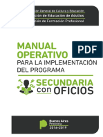Manual de Implementación de Secundaria Con Oficios