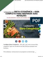 Cardápio Dieta Cetogênica » Guia Completo para Preparar suas Refeições.pdf