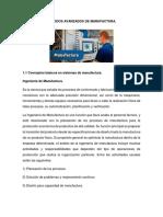 Métodos Avanzados de Manufactura