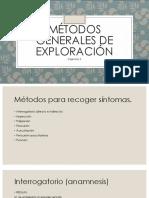 Métodos Generales de Exploración
